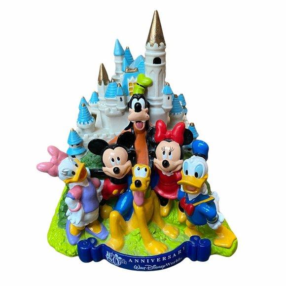 Walt Disney World Piggy Bank 30th Anniversary